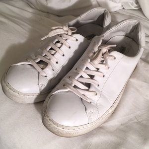 d93f0320fec Other Stories Shoes -   Other Stories White Leather Sneakers